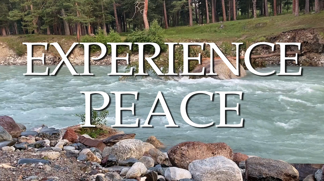 Weekly Music Meditation - Experience Peace