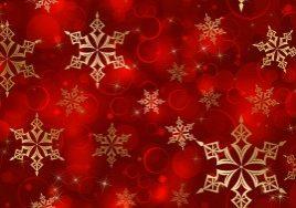 1934-golden-snowflakes-on-red-2560x1600-digital-art-wallpaper